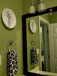 asparagus green...bathroom color.
