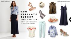 Shopbop's Ultimate Spring Closet for Less