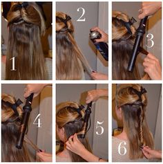 Pleasantly Petite: How To: Styling Wand Curls. In depth tutorial in how to curl your hair