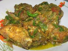 AYAM GORENG CABE IJO (fried chicken with green chilli sauce - Indonesian food