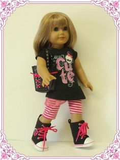 Monster High outfit for American Doll girl :)