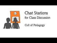 Students Sitting Around Too Much? Try Chat Stations. | Cult Of Pedagogy