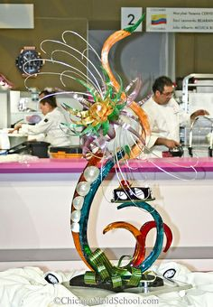 Sugar Showpiece - Coupe du Monde de la Patisserie 2011 - The Chicago School of Mold Making
