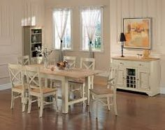 Image result for painted dining room tables