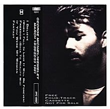 For Sale -George Michael Wembley UK Promo  cassette single- See this and 250,000 other rare and vintage records & CDs at http://eil.com/