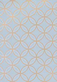 Wallpaper for Master Bedroom (Thibaut, Kirkos-Metallic on Slate)