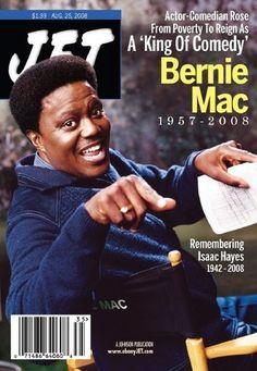 Jet Magazine cover with the late Bernie Mac Jet Magazine, Black Magazine, Black Actors, Black Celebrities, Celebs, Ebony Magazine Cover, Magazine Covers, Bernie Mac, John Johnson