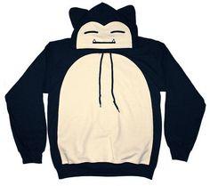Pokemon craze. Snorlax hoodie