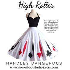 High Roller Halter Dress by Hardley Dangerous by MoonbootStudios