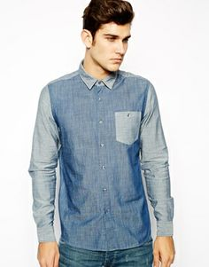Discover our stylish men's shirts at ASOS. Shop our different shirt styles, from check to stripes, designer or dress shirts in a range of sleeve lengths. Chambray Shirts, Men's Shirts, Dress Shirts, Core Collection, Summer Collection, Denim Button Up, Button Up Shirts, Casual Shirts For Men, Shirt Style