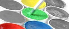Die Wirkung von Farben in Räumen: gelb, rot, grün, blau: Hier erfahrt ihr mehr! Shops, Orange, Pink, Colors, Yellow, Blue, Tents, Retail, Pink Hair