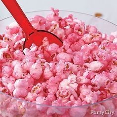 Want tickled pink popcorn? All you need is bright pink Color Mist™, your favorite popcorn and our how-to!