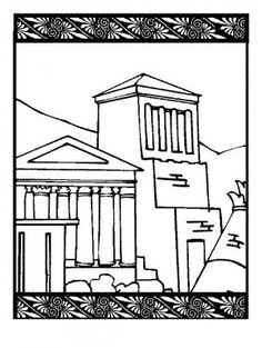 Ancient Greek Olympics Coloring Pages Ancient Greek Olympics