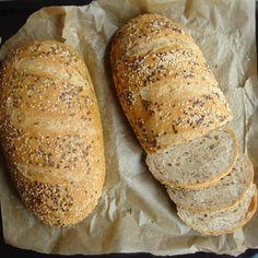 Hungarian Desserts, Hungarian Recipes, Bread Recipes, Cooking Recipes, Breakfast Recipes, Dinner Recipes, Bread And Pastries, Diy Food, Food Ideas