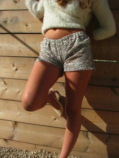 women shorts.lace  shorts.short shorts.summer by shpirulina