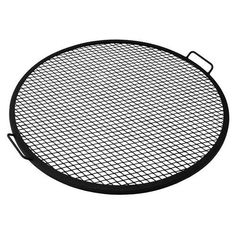 Sunnydaze X Marks Outdoor Fire Pit Cooking Grill Grate. Creates perfect grill marks on food without any hassle. Enjoy an evening of grilling with this cooking grate! X-marks fire pit cooking grill for tripod or placing on fire pit. Fire Pit Grate, Fire Pit Bbq, Fire Pit Ring, Metal Fire Pit, Diy Fire Pit, Fire Pit Backyard, Outdoor Fire Pits, Fire Pit Screen, In Ground Fire Pit