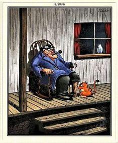 Funny Cartoons, Funny Comics, Gary Larson Cartoons, The Far Side, Cute Funny Animals, Puns, Comedy, Jokes, Humor