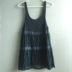 Kimchi Blue Lace Dress More blue in person | good condition | no marks, stains, etc. | ask as many questions as needed! Urban Outfitters Dresses Midi