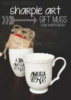 12 Adorable DIY Mugs for a Love Gift