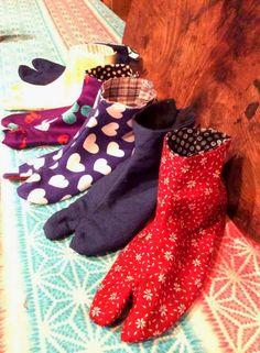 伸縮性のある靴下とは違い、足袋は本当にピッタリでないと不快な思いをしますよね。足首が太い、幅があるなど、個人の足の形は様々です。ぜひ、ご自身の足に合う足袋を手作りしてみては!?