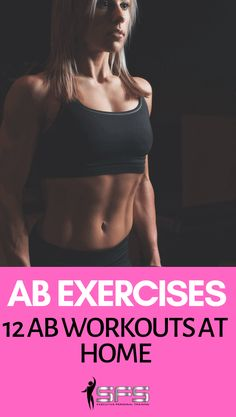 Ab Exercises: 12 Ab workouts at home Ab Exercises: 12 Ab workouts at home to firm the abs and help you get a flat stomach. You can use these workouts as a 12 week plan. Sixpack Abs Workout, Ab Workout Men, Best Ab Workout, Ab Workout At Home, At Home Workouts, Extreme Fitness, Extreme Workouts, Lower Ab Workouts, 20 Minute Ab Workout