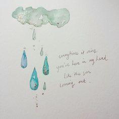 Jasmine Rebecca Art & Illustration Kate Bush Quote