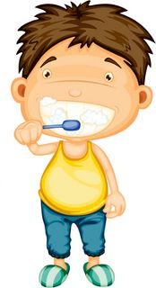 Teeth Brushing image for morning chore chart