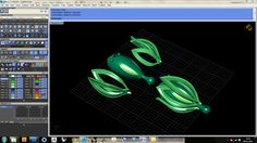 Kylie Yeung - Flower Bud Chain Link Assembly (CAD Screenshot)