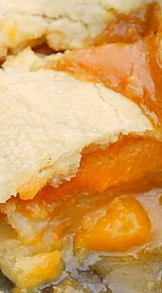 Double Crust Peach Cobbler