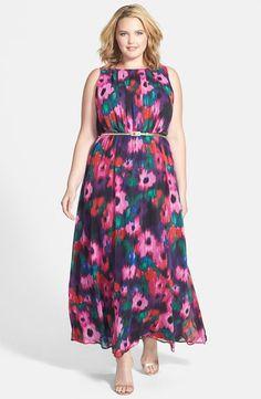 9 plus size floral dresses for formal events Best Maxi Dresses, Plus Size Maxi Dresses, Spring Dresses, Plus Size Outfits, Nice Dresses, Maxi Dress Wedding, Floral Maxi Dress, Wedding Attire, Dresses For Formal Events