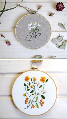 tatauc embroidery hoops on Etsy