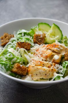 Cezar Salad, Cooking Recipes, Healthy Recipes, Food Photo, Food And Drink, Healthy Eating, Yummy Food, Lunch, Dishes
