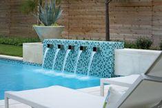 Pebble Tile Swimming Pool Google Search Backyard Landscaping Ideas