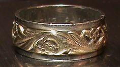 Vintage ArtCarved Celtic Spiral Motion Wedding Band 14 K Gold | eBay Like our original wedding bands.