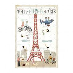 Puzzle Paris Bunt  Londji