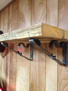 Shelf Brackets - Blacksmithing - Gallery - I Forge Iron