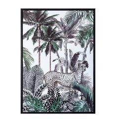 Cheetah Jungle Framed Canvas