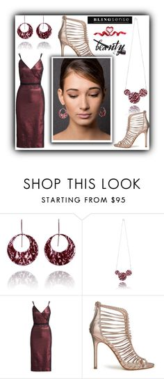 """""""blingsense 1"""" by fatimka-becirovic ❤ liked on Polyvore featuring Cinq à Sept and Miss Selfridge"""