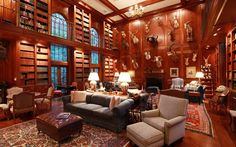 Luxury Homes With Libraries Article