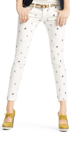 Anchor skinnies