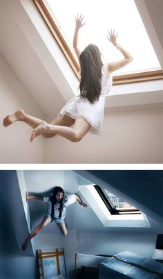 Photo Series by Kylie Woon Fantastic series of surreal self portraits by Hawaii-based photographer Kylie Woon.