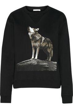 J.W.ANDERSON Printed Cotton Sweatshirt. #j.w.anderson #cloth #sweatshirt