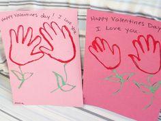 Valentine's day handprint