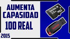 Como expandir una MEMORIA USB y MICRO CD de (2gb-4gb) (4gb-8gb) (8gb-16g...