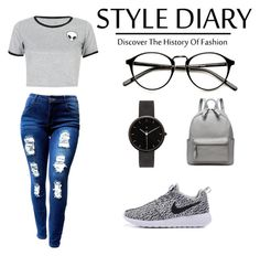 """""""Без названия #1"""" by anya7202 ❤ liked on Polyvore featuring I Love Ugly and WithChic"""