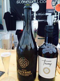 Esterre Sparkling Prestige and Esterre. Stonewell Cider