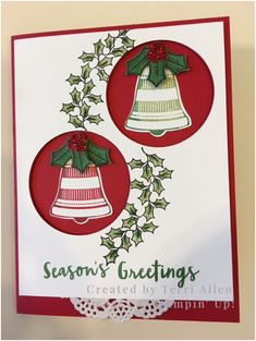 Christmas Bells by terrial - Cards and Paper Crafts at Splitcoaststampers