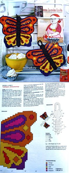 }}{{ potholders with diagrams