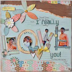 I really love you! - Scrapjazz.com
