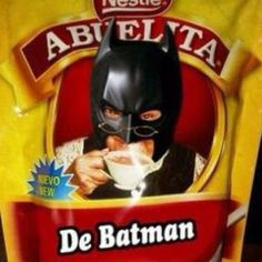 "Chocolate ""abuelita"" de Batman"